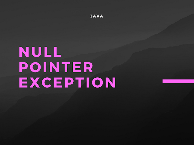 How To Get Rid Of Null Pointer Exception In Java